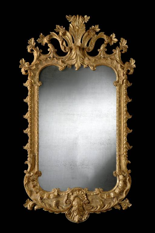 Chippendale mirror gilded timber, 2008