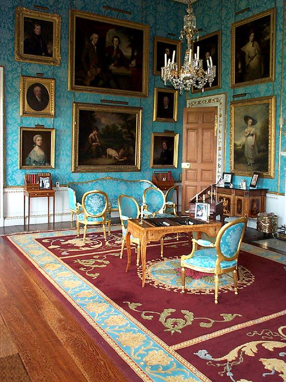 Neo classical carpet for the Orleans room at Castle Howard 2004