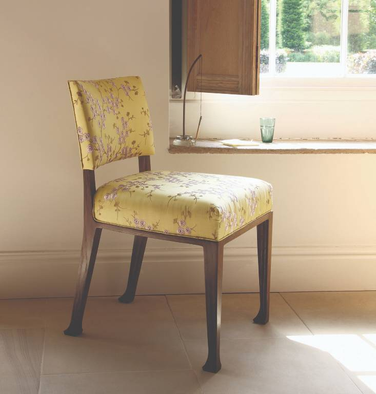 Side chair in polished walnut, 2009