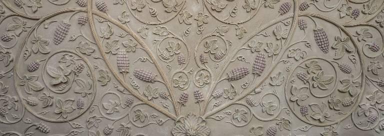 Plaster ceiling design commission from Misti Leitz