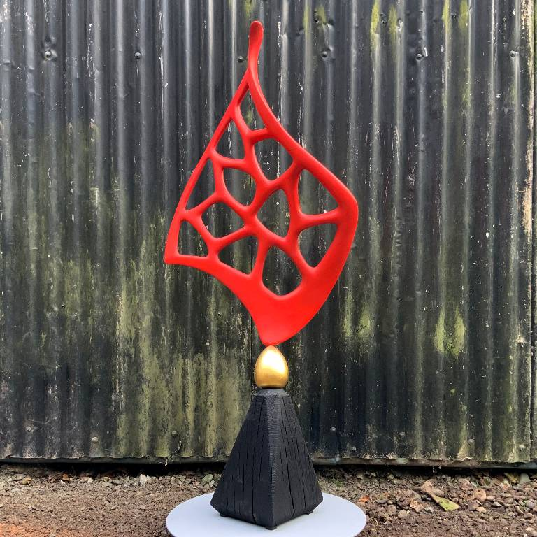 Sculpture autumn flame by Misti Leitz