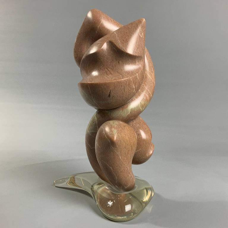 Alabaster sculpture by Misti Leitz