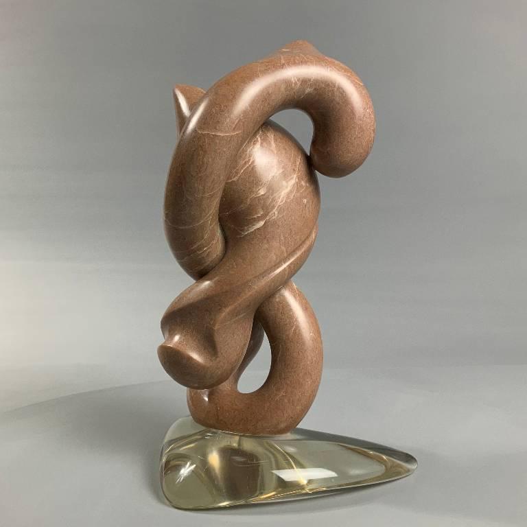 Contempory stone sculpture
