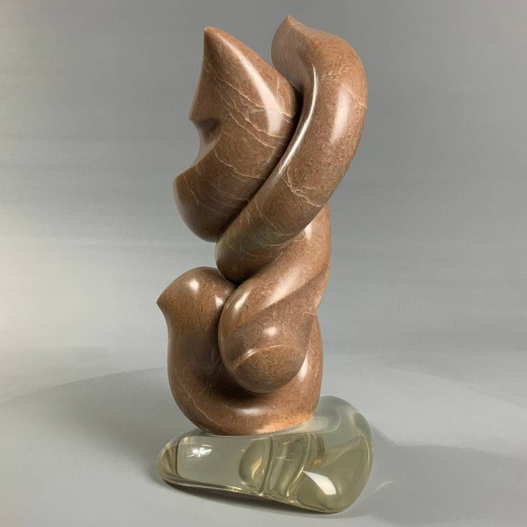 Modern alibaster sculpture