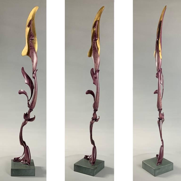 Growth a sculpture by Misti Leitz