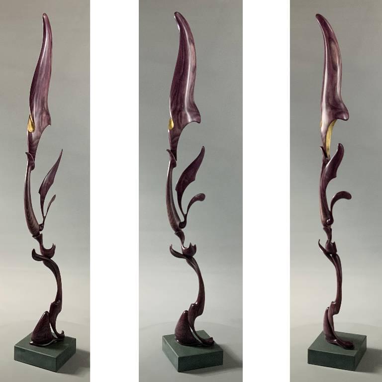 Growth a sculpture by UK artist and designer Misti Leitz