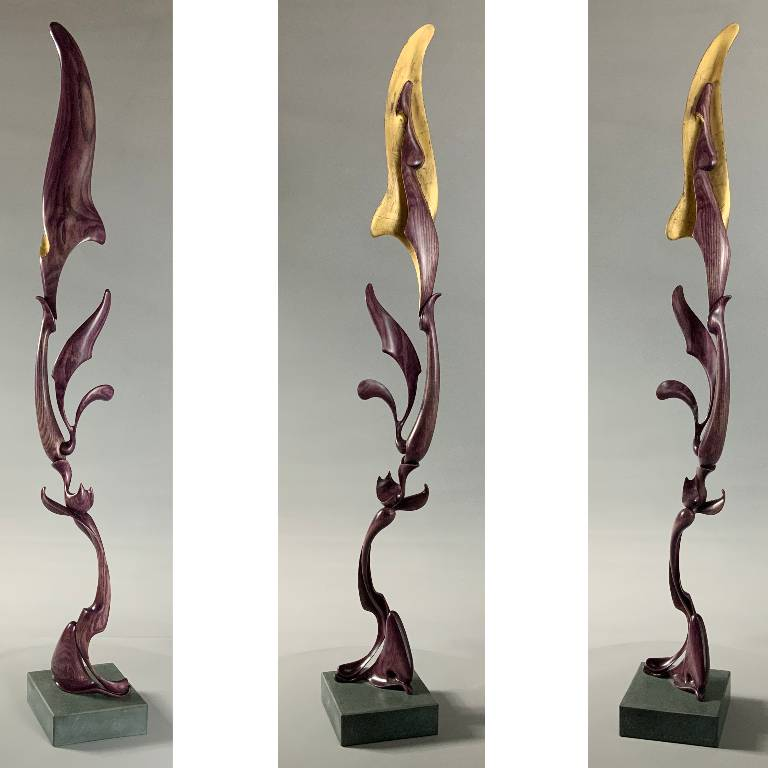 hand carved sculpture by Misti Leitz
