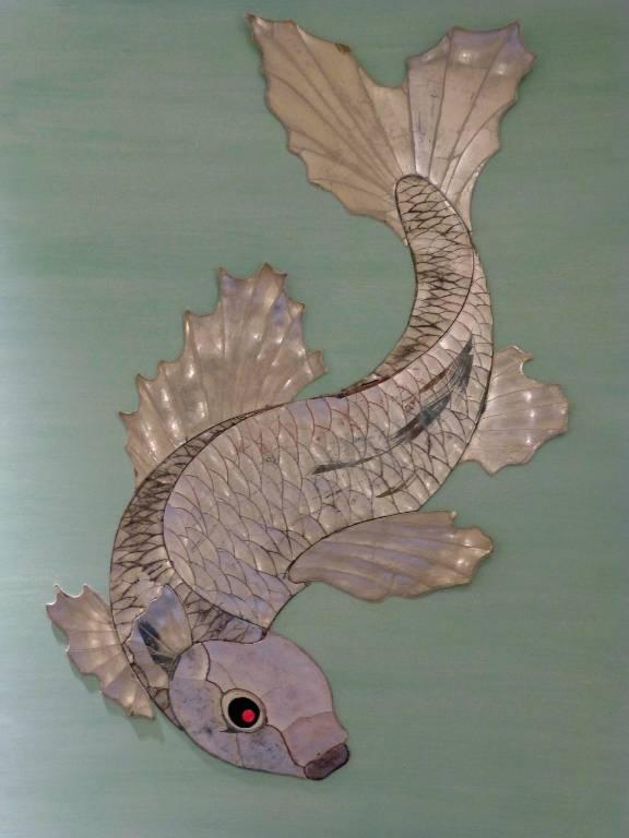 Gesso fish designed furnishing