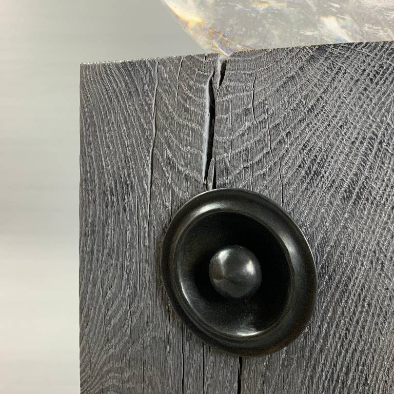 This designer lamp has the highest quality bespoke made elements making in truely unique
