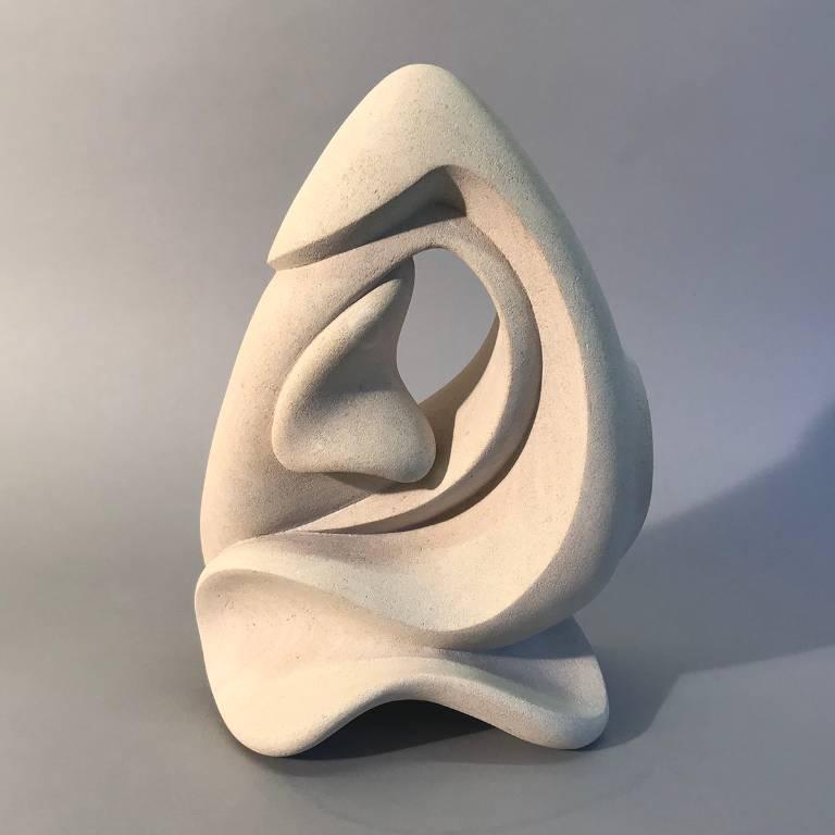 Portland stone sculpture by Misti Leitz