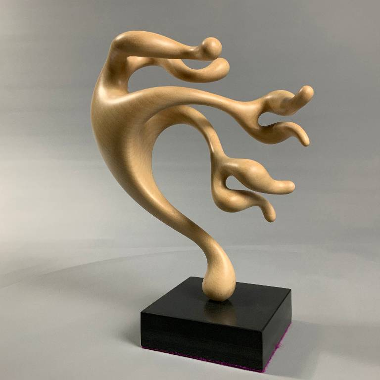 The movement is captured brilliantly in this sculpture