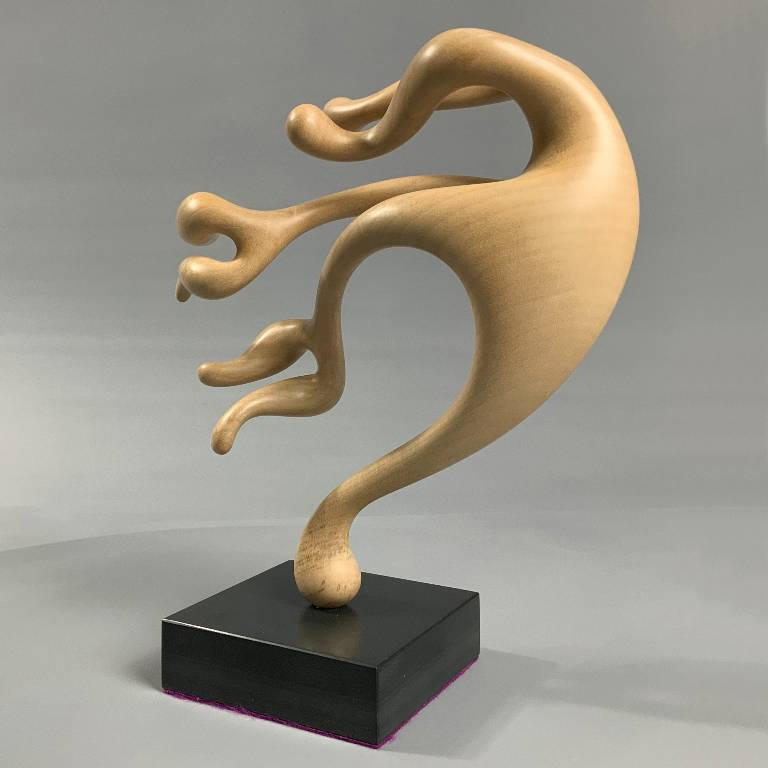Sculpture in lime by Misti Leitz