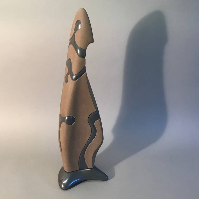 Standing Stone stone carved sculpture by Misti Leitz